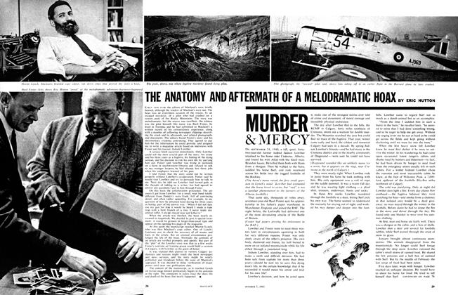 Article Preview: THE ANATOMY AND AFTERMATH OF A MELODRAMATIC HOAX, October 1961 | Maclean's