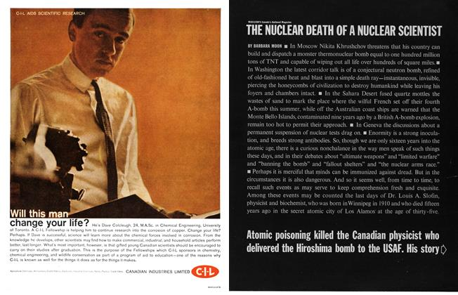 Article Preview: THE NUCLEAR DEATH OF A NUCLEAR SCIENTIST, October 1961 | Maclean's