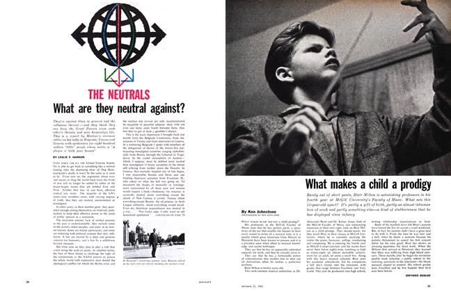Article Preview: What makes a child a prodigy, October 1961 | Maclean's