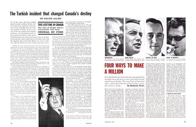 Article Preview: The Turkish incident that changed Canada's destiny, October 1961 | Maclean's