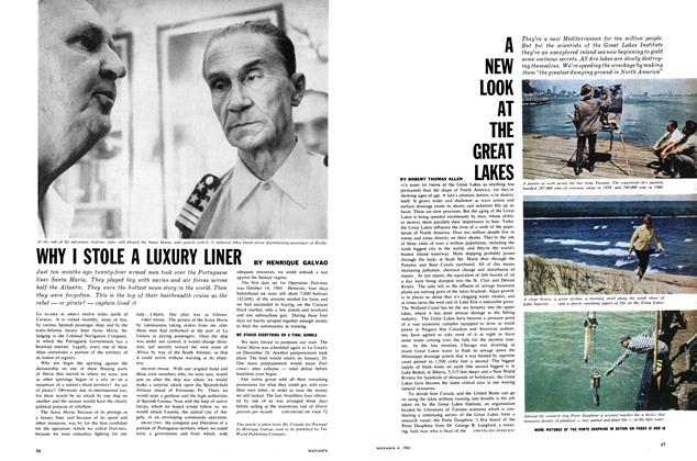 Article Preview: WHY I STOLE A LUXURY LINER, November 1961 | Maclean's