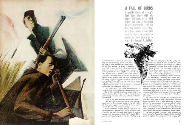 Article Preview: A FALL OF BIRDS, November 1961 | Maclean's