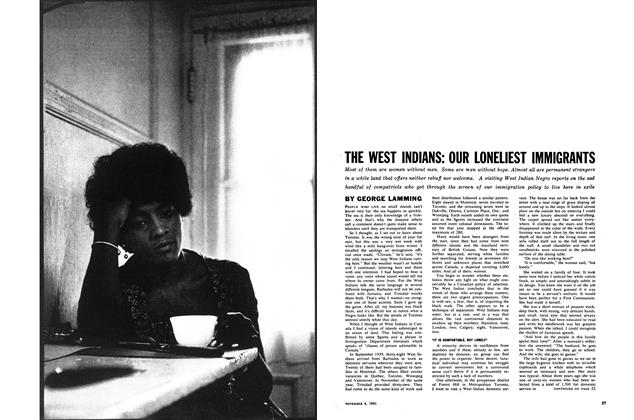 Article Preview: THE WEST INDIANS: OUR LONELIEST IMMIGRANTS, November 1961 | Maclean's