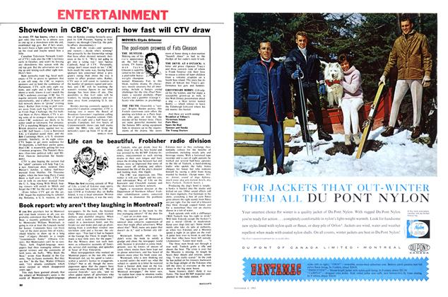 Article Preview: Book report: why aren't they laughing in Montreal?, November 1961 | Maclean's