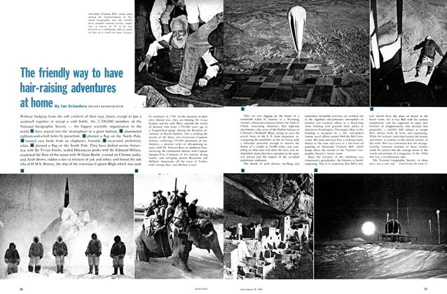 Article Preview: The friendly way to have hair-raising adventures at home, November 1961 | Maclean's
