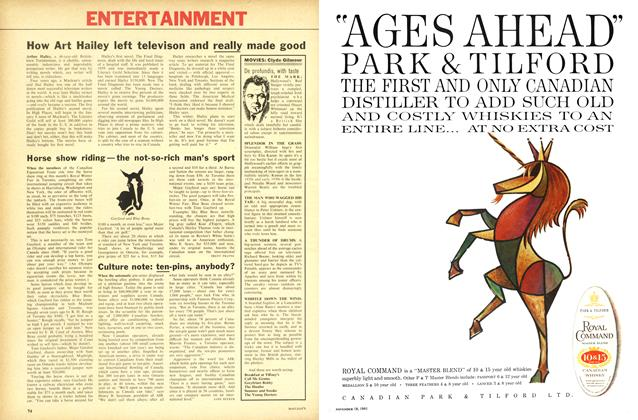 Article Preview: Horse show riding — the not-so-rich man's sport, November 1961 | Maclean's