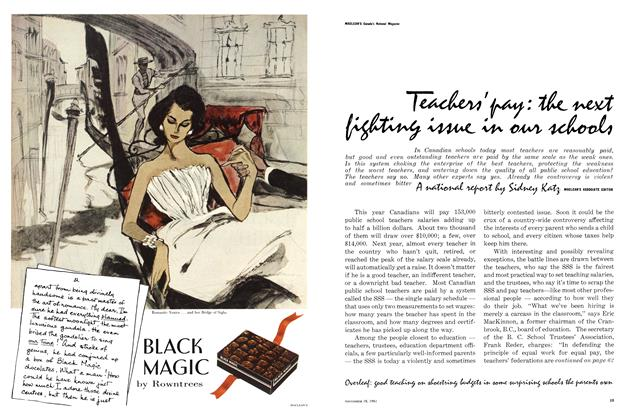 Article Preview: BLACK MAGIC, November 1961 | Maclean's