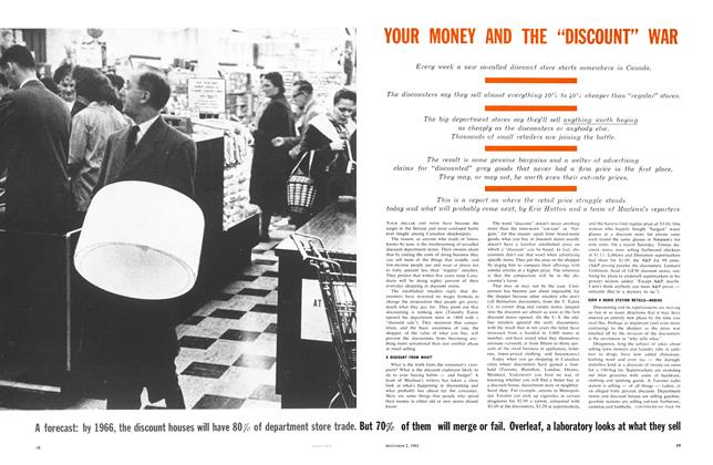 "Article Preview: YOUR MONEY AND THE ""DISCOUNT"" WAR, December 1961 