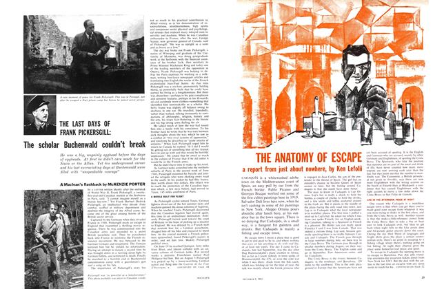 Article Preview: The scholar Buchenwald couldn't break, December 1961 | Maclean's