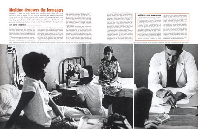 Article Preview: Medicine discovers the teen-agers, December 1961 | Maclean's