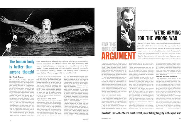 Article Preview: The human body is better than anyone thought, December 1961 | Maclean's