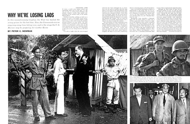 Article Preview: WHY WE'RE LOSING LAOS, December 1961 | Maclean's