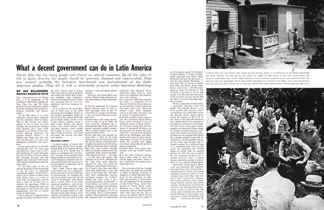 Article Preview: What a decent government can do in Latin America, January 1962 | Maclean's