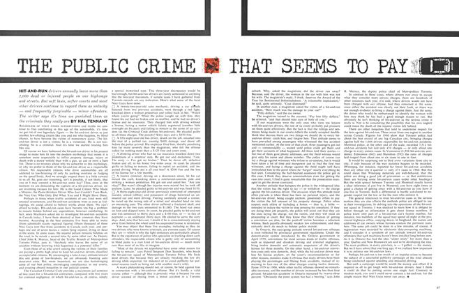 Article Preview: THE PUBLIC CRIME THAT SEEMS TO PAR, February 1962 | Maclean's