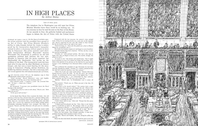Article Preview: IN HIGH PLACES, February 1962 | Maclean's