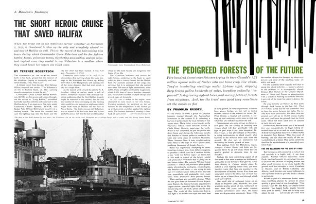 Article Preview: THE SHORT HEROIC CRUISE THAT SAVED HALIFAX, February 1962 | Maclean's