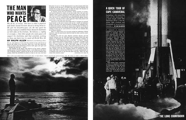 Article Preview: THE MAN WHO WANTS PEACE, February 1962 | Maclean's