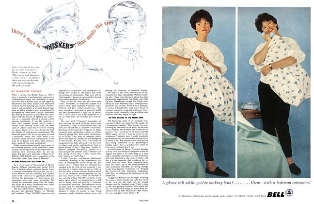 Article Preview: There's more in WHISKERS than meets the eye, March 1962 | Maclean's
