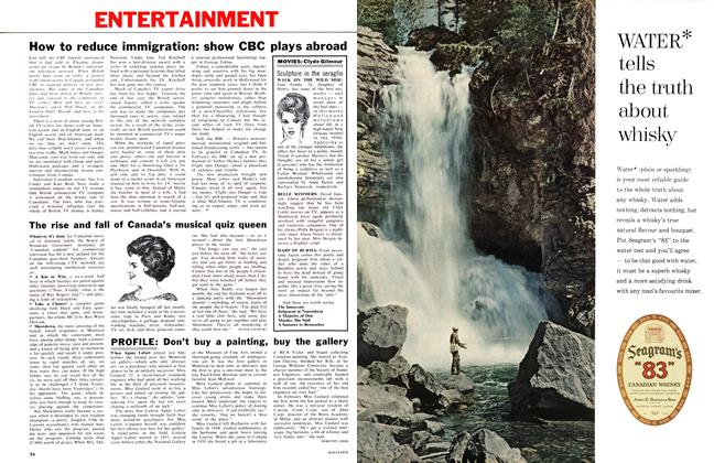 Article Preview: PROFILE: Don't buy a painting, buy the gallery, March 1962 | Maclean's