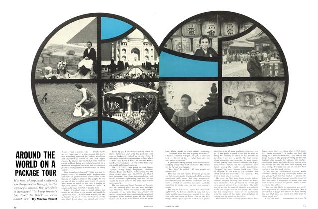 Article Preview: AROUND THE WORLD ON A PACKAGE TOUR, March 1962 | Maclean's