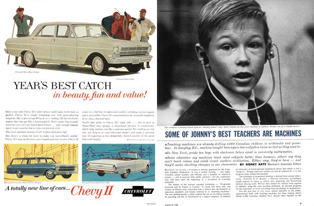 Article Preview: SOME OF JOHNNY'S BEST TEACHERS ARE MACHINES, March 1962 | Maclean's