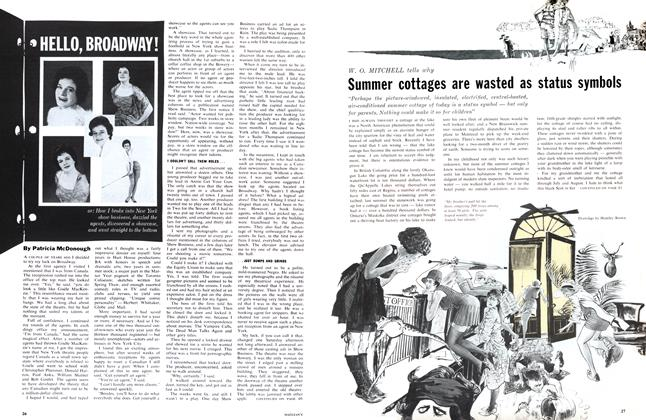 Article Preview: HELLO, BROADWAY!, April 1962 | Maclean's