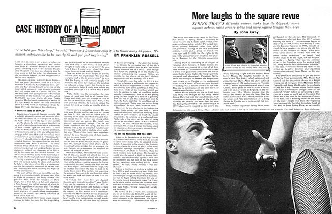 Article Preview: More laughs to the square revue, May 5,1962 1962 | Maclean's