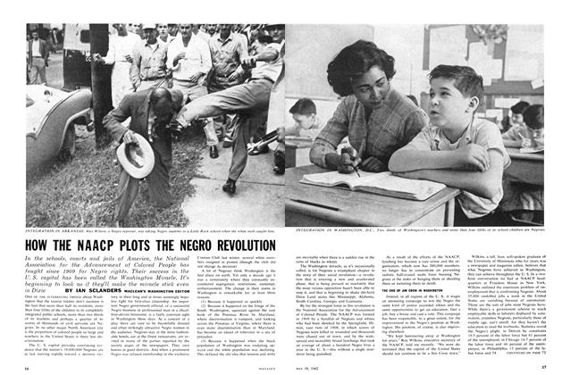 Article Preview: HOW THE NAACP PLOTS THE NEGRO REVOLUTION, May 1962 | Maclean's