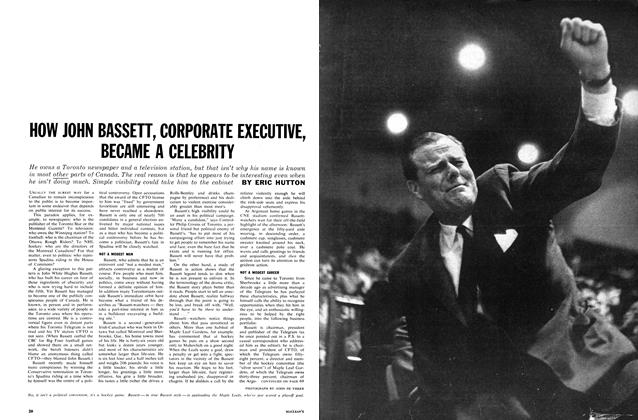 Article Preview: HOW JOHN BASSETT, CORPORATE EXECUTIVE, BECAME A CELEBRITY, May 1962 | Maclean's