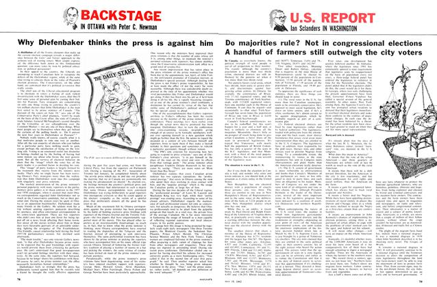 Article Preview: Why Diefenbaker thinks the press is against him, May 1962 | Maclean's