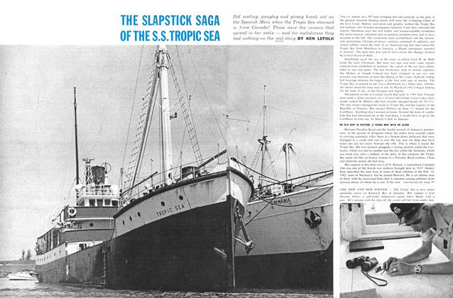 Article Preview: THE SLAPSTICK SAGA OFTHES.S.TROPIC SEA, May 1962 | Maclean's