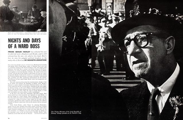 Article Preview: NIGHTS AND DAYS OF A WARD BOSS, June 1962 | Maclean's