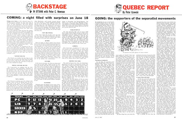 Article Preview: COMING: a night filled with surprises on June 18, June 1962 | Maclean's