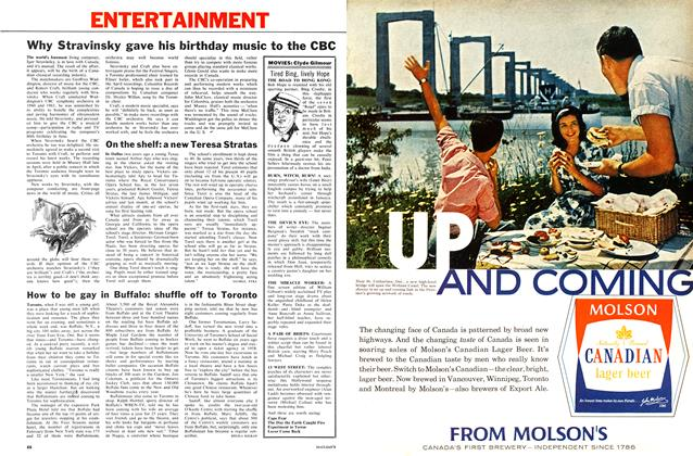 Article Preview: How to be gay in Buffalo: shuffle off to Toronto, June 1962 | Maclean's