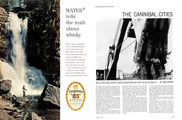 Article Preview: THE CANNIBAL CITIES, June 1962 | Maclean's