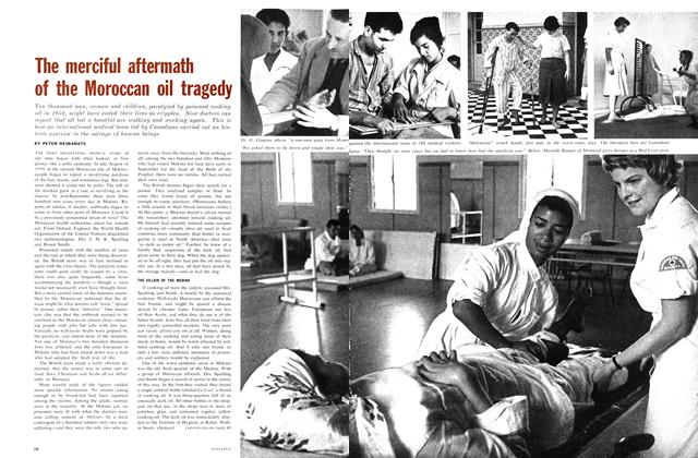 Article Preview: The merciful aftermath of the Moroccan oil tragedy, June 1962 | Maclean's