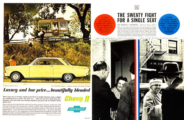 Article Preview: THE SWEATY FIGHT FOR A SINGLE SEAT, June 1962 | Maclean's