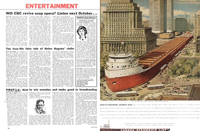 Article Preview: ClyWill CBC revive soap opera? Listen next October..., June 1962 | Maclean's