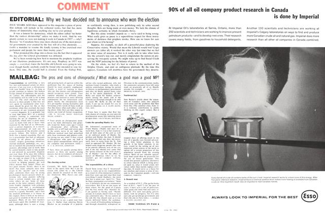Article Preview: MAILBAG:, June 1962 | Maclean's