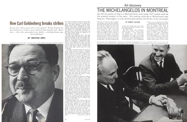 Article Preview: How Carl Goldenberg breaks strikes, June 1962 | Maclean's