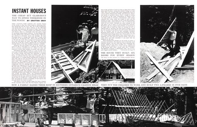 Article Preview: INSTANT HOUSES, July 1962 | Maclean's