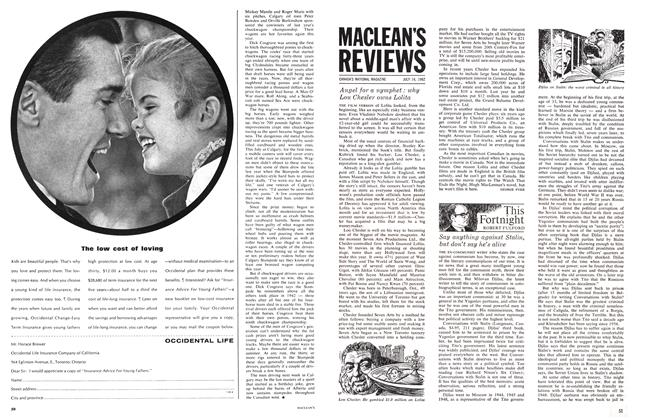 Article Preview: This Fortnight, July 1962 | Maclean's