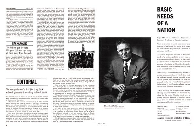 Article Preview: BACKGROUND, July 1962 | Maclean's