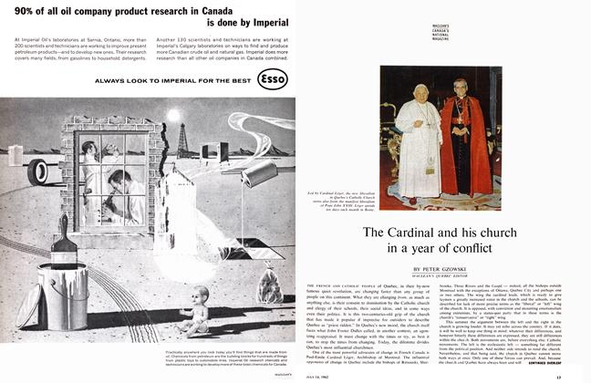 Article Preview: The Cardinal and his church in a year of conflict, July 1962 | Maclean's
