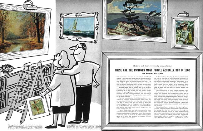 Article Preview: THESE ARE THE PICTURES MOST PEOPLE ACTUALLY BUY IN 1962, August 1962 | Maclean's