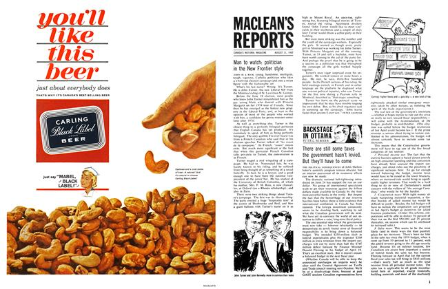 Article Preview: MACLEAN'S REPORTS, August 1962 | Maclean's