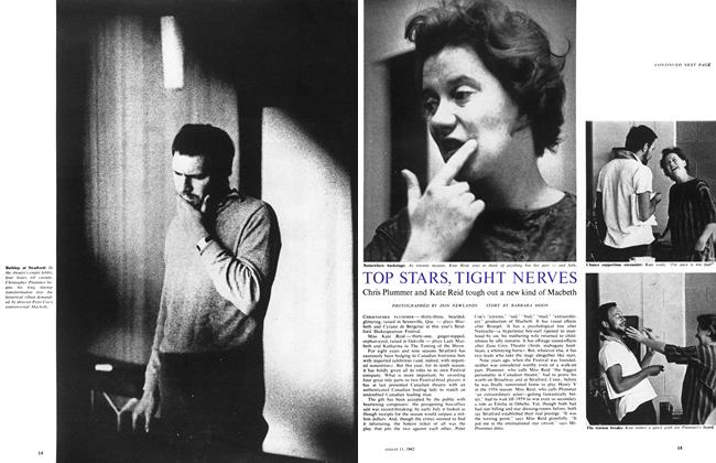 Article Preview: TOP STARS, TIGHT NERVES, August 1962 | Maclean's
