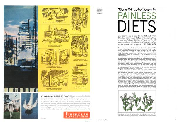 Article Preview: The wild, weird boom in PAINLESS DIETS, September 1962 | Maclean's