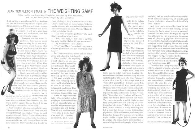 Article Preview: JEAN TEMPLETON STARS IN THE WEIGHTING GAME, September 1962 | Maclean's