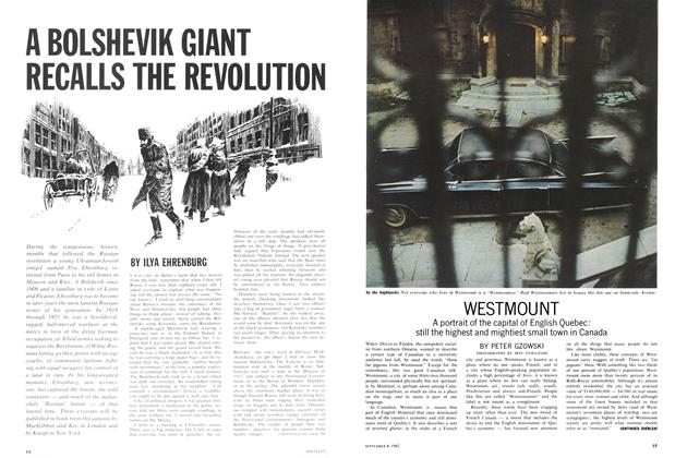 Article Preview: A BOLSHEVIK GIANT RECALLS THE REVOLUTION, September 1962 | Maclean's